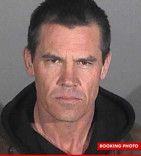 0105 josh brolin booking 1 Josh Brolin Complains Cops Released Non Smiling Version Of My Mugshot