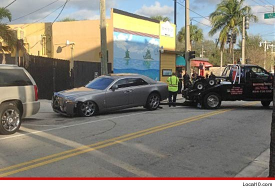 0128 rolls royce local10 3 Rapper Rick Ross Escapes Unhurt After Assassination Attempt