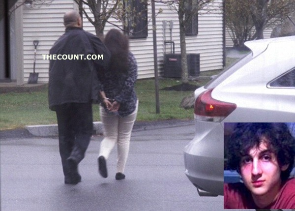02 Boston Bomber Dzhokhar Girlfriend Arrested