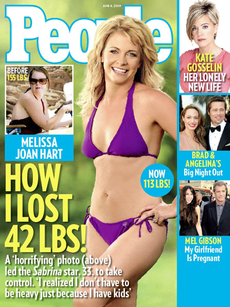Melissa Joan Hart is thin