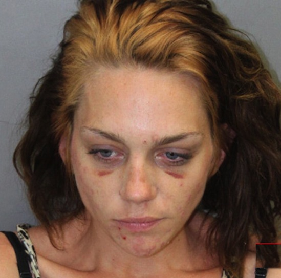 0717 alway renee article 1 TOP MODEL Renee Alway HORRENDOUS MUG SHOT