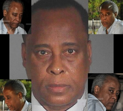 1028 conrad murray mug 2011 b 11 400x359 Dr ENABLER Conrad Murray Crying Earns Him Bigger Cell
