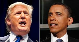 110414 trump obama ap 328 TRUMP SCAMS PRESS IN DUD BOMBSHELL   Ill Give $5M To Charity IF Obama...