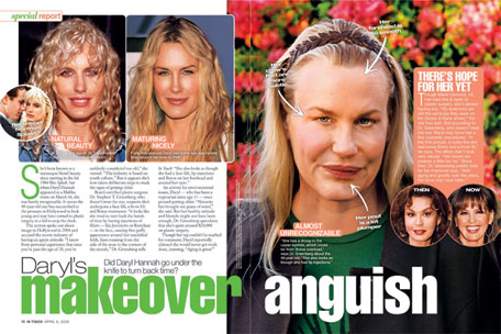 Holy Cow What Happened To Daryl Hannah?