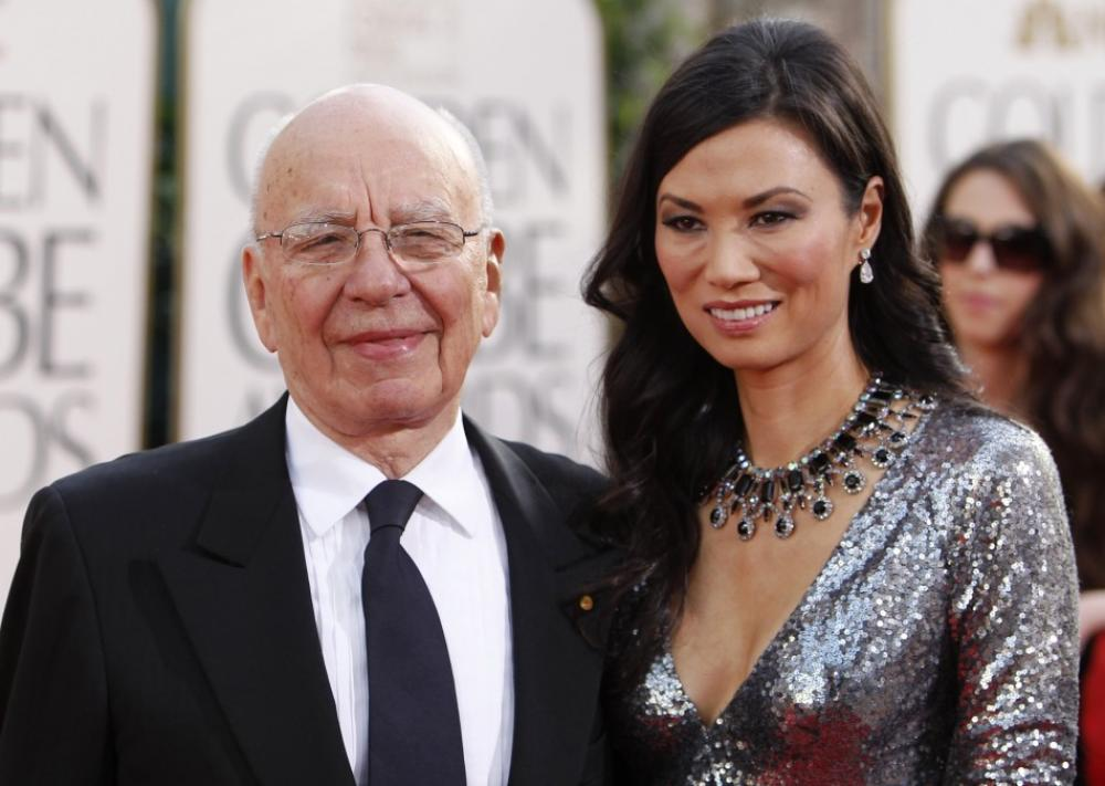 133561-news-corp-chief-executive-rupert-murdoch-and-his-wife-wendi-deng-arriv