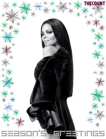 1356708873 janet jackson lg Janet Jackson Friends Only Christmas Card Leaked