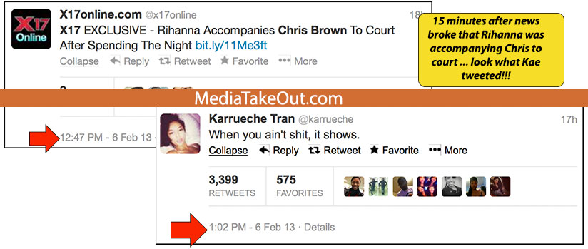 1360249925410698f0c0 Chris Brown Ex Blasts Rihanna: You Aint Nothing For Showing Up At Court