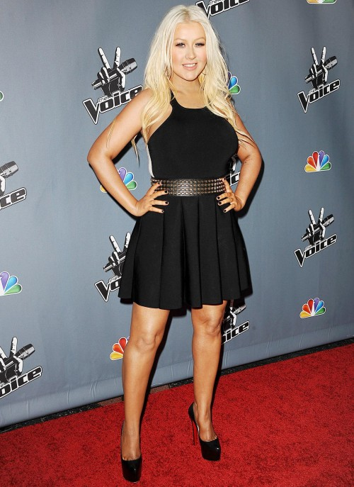 1363868160 christina aguilera zoom 500x687 X Tina Looking More Like Christina Aguilera