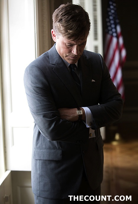 1371131029 rob lowe article Rob Lowe Pictured Portraying President Kennedy