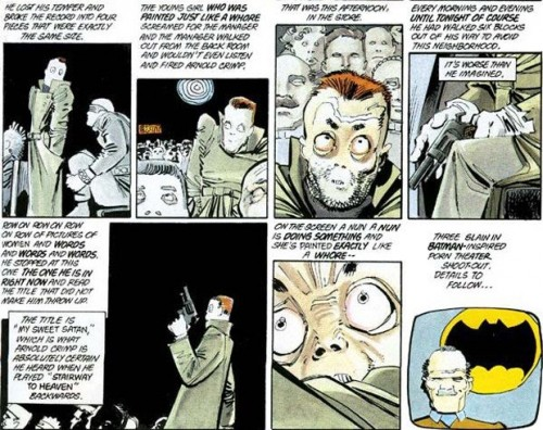 1986Batmancomic 500x396 80s Batman Comic The Dark Knight Returns May Be Shooters Inspiration
