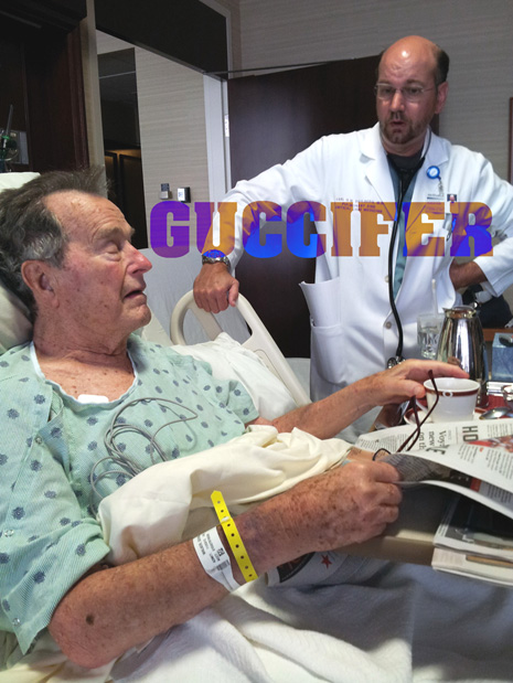 1bushhospitalinside George W Bush HACKED! Family Photos Sensitive Documents Leaked