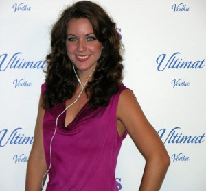 lmlulitmatredsm 300x279 Lisa Mason Lee on Red Carpet @ Ultimat Vodka Party
