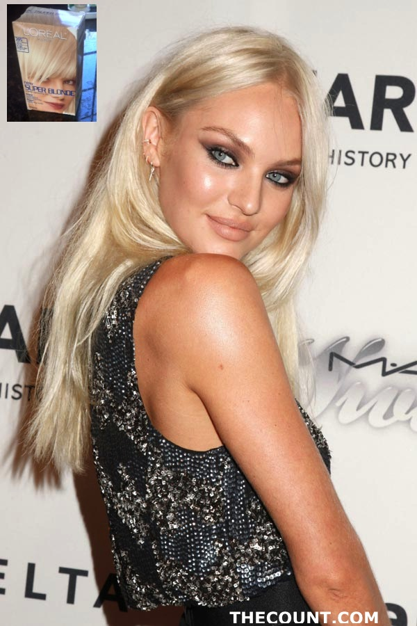2013 candice swanepoel new hair SIZZLE! Candice Swanepoel Goes SUPER BLONDE For Summer!