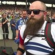 Paralyzed Vet Dan Rose Proudly STANDS During Indy 500 Anthem Using Wearable Robot