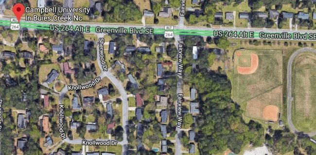 Campbell University In Buies Creek Nc, Greenville Boulevard ... on