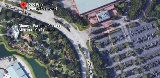 Body Found In Burning Vehicle Outside Orlando Disney 39 S Fantasia Gardens Miniature Golf Course