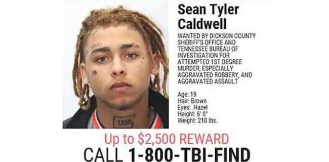 TN 10 Most Wanted Sean Caldwell Suspect In Dollar General Shooting
