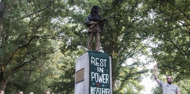 Three Chapel Hill Silent Sam Confederate Statue Protesters