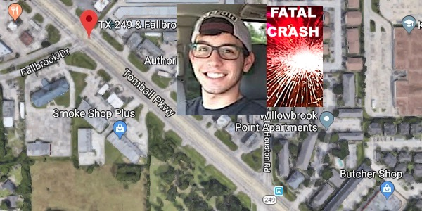 TX Man Zach Palazzetti ID'd As Victim Causing Houston Crash That