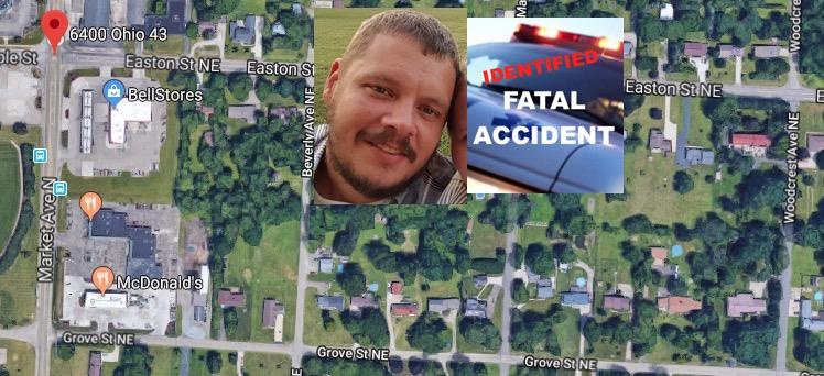 David Barringer killed car accident 6400 Ohio 43, North