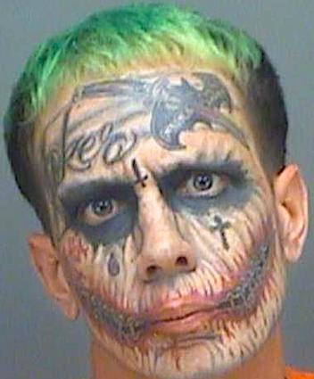 """Florida's """"Joker"""" Lawrence Sullivan Gets New Mugshot After ..."""