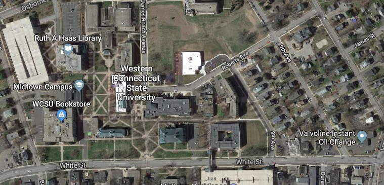 Wcsu Westside Campus Map.Report Western Connecticut State University Lockdown Amid Man With