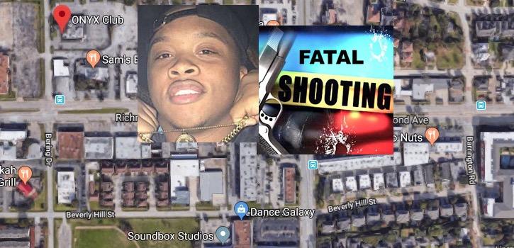 Rapper Nicholas Esene Shot Onyx Club Bering Drive Houston Tx on Mercedes Benz Houston