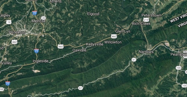 I 77 West Virginia Map.I 77 West Virginia