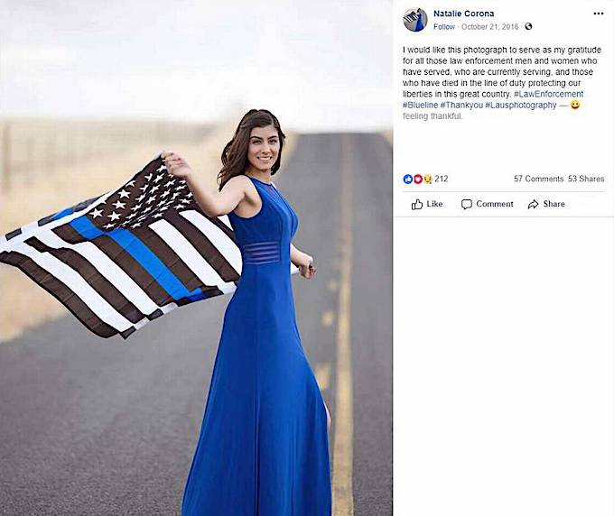 CA Lady Cop Natalie Corona ID'd As Davis Rookie Police ...