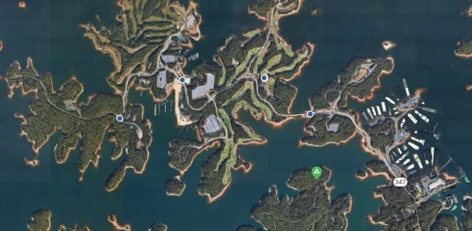 Lake Lanier Islands resort, Buford, GA  
