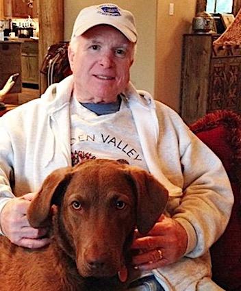 67daecfb5 Burma John McCain Dog | .