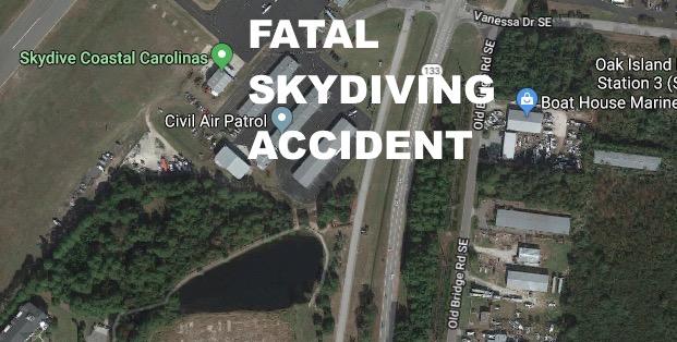 NC Man Justin Goff ID'd As Skydiver Killed Near Cape Fear