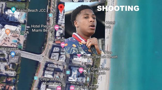 Rapper Nba Youngboy Shot At Miami Alamo Rent A Car Near