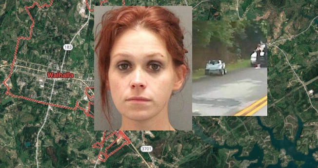 Sc Woman Megan Holman Charged After Pulled Over Riding Power