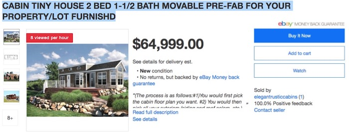1f6ede8adec8c Prime Members Can Now Buy A 'Tiny Home' On Amazon For $18,000 Free ...