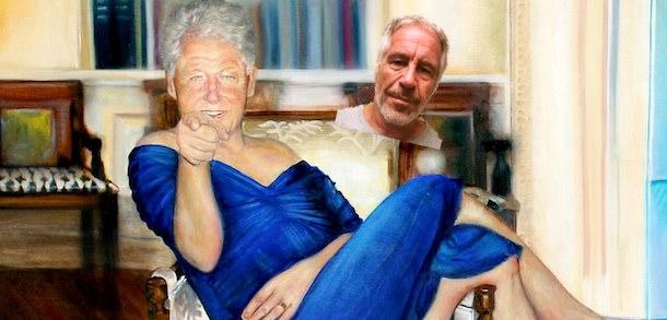 Clinton With A Blue Dress Blue Dress Blue Dress Clinton