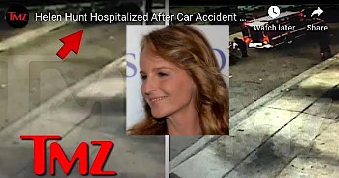 As Good As It Gets Actress Helen Hunt Hospitalized