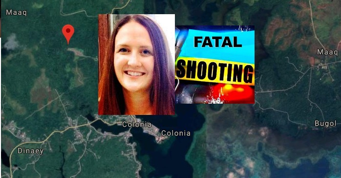 Rachelle Bergeron shot and killed in Micronesia