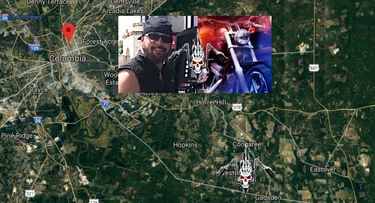 Harley Davidson Columbia Sc >> Jack 'Curtis' Greene 'South Cak Ryderz MC' Dead In ...
