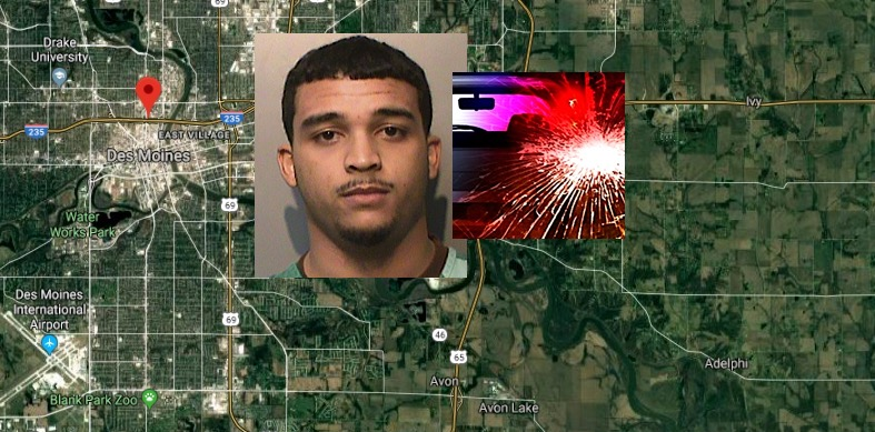 IA Man Devin Russell Smith Charged 'Vehicular Homicide' In