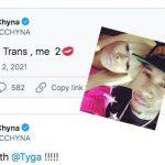Blac Chyna Tweets 'Tyga Loves Trans' Blasts EX 'Tell The Truth!'