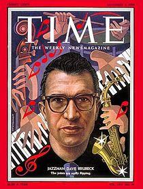 210px Time magazine cover Dave Brubeck November 1954 R. I. P. Dave Brubeck