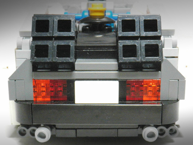 238405 Back To The Future Delorean Gets Lego Makeover