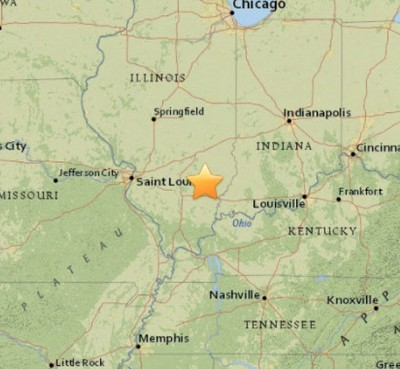 3.4 Earthquake ROCKS Illinois