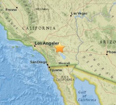 3.8 Earthquake Jolts Indio California