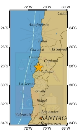 6.7 Earthquake Strikes Chile