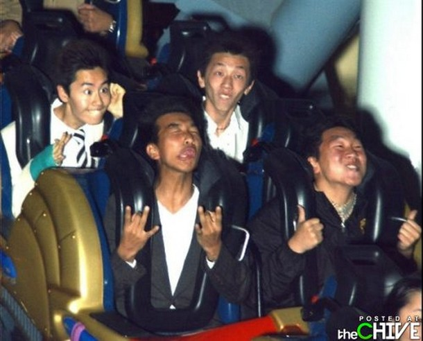 33 Greatest Ever Roller Coaster Auto Photo Moments