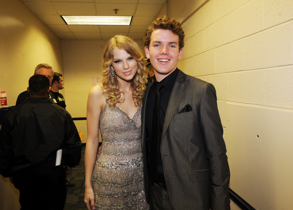 Taylor Swift's younger brother Austin.
