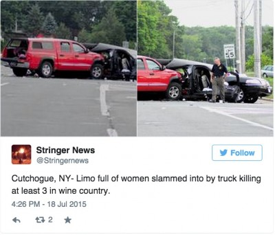 4 Long Island Bridesmaids DEAD After Pickup Truck Slams Into Limousine 3