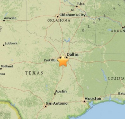 4.0 Earthquake strikes TEXAS